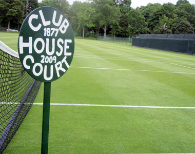 Clubhouse Court since 1877